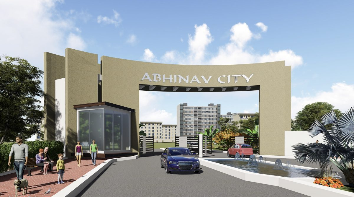 abhinav city entry gate