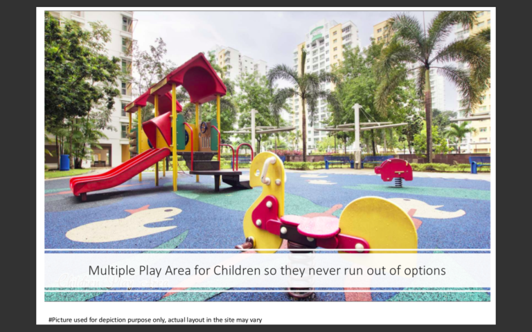 Multiple Kids Playing Area