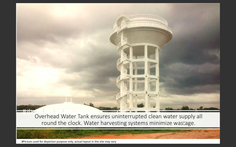 Overhead Watertank